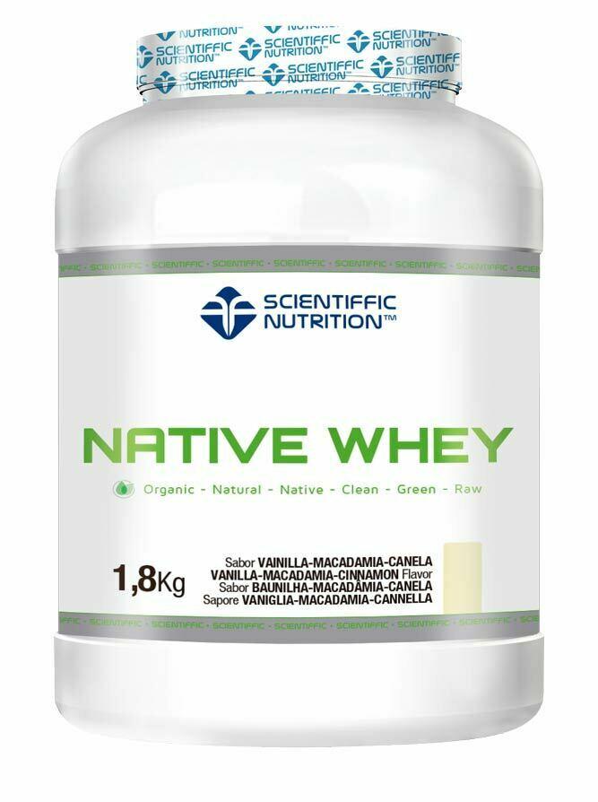 Native Whey 1.8Kg vanilla nuts
